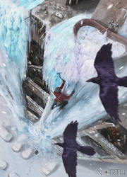 Ice Climb by 5ofnovember