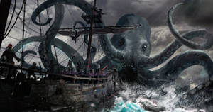 Pirates of the Undead Seas - monster attack