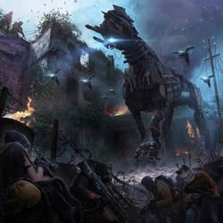 Hunters AD 2114 - Cover artwork