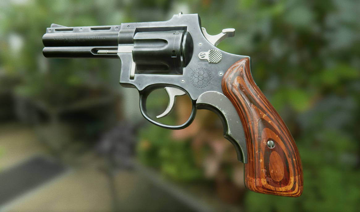 38 Special Revolver - Final - UE4 by ImsumDave on DeviantArt