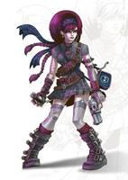 Cyber Punk Girl by Nemons