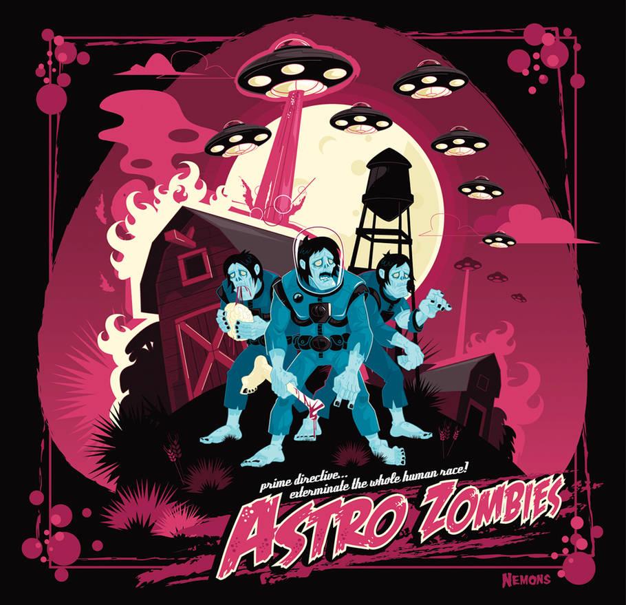 Astro Zombies Colour