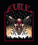 Evile t-shirt design