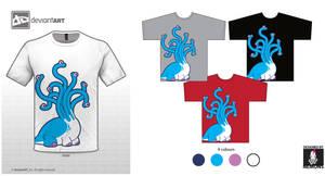 Hydra by Nemons - Cute Monster T-shirt by Nemons