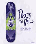 Pierce the Veil Skateboard Design
