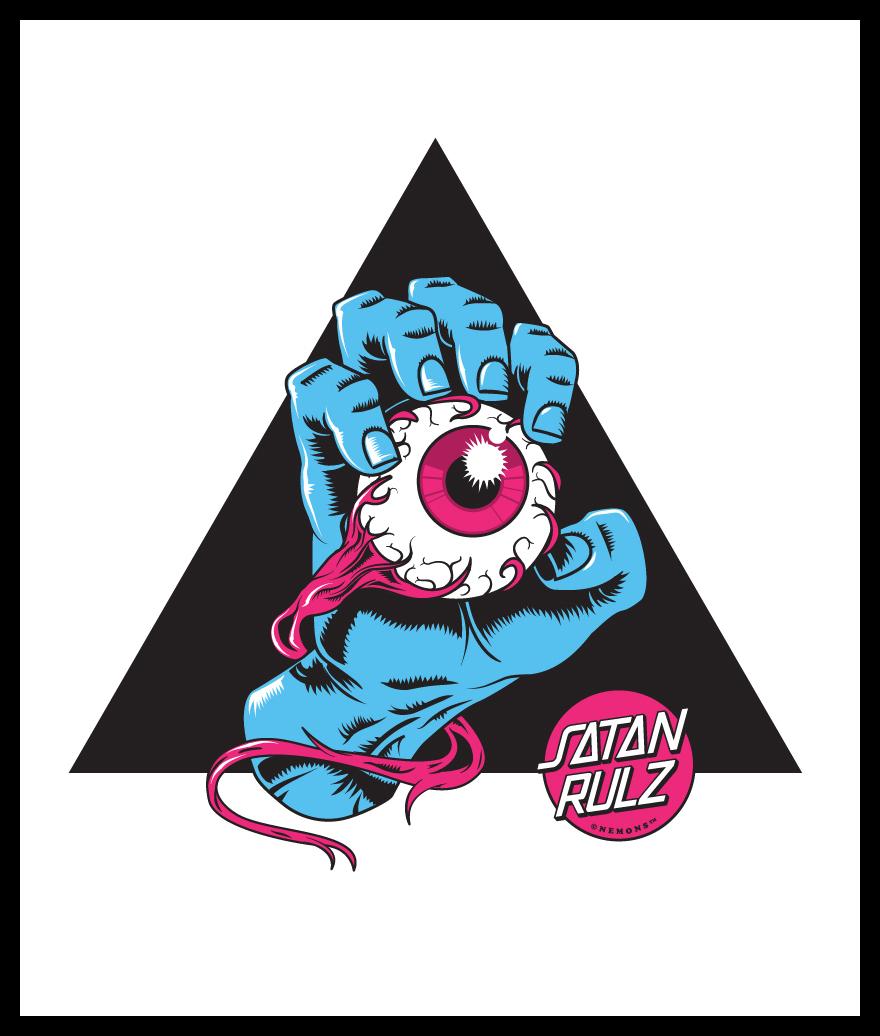Satan Rulz by Nemons