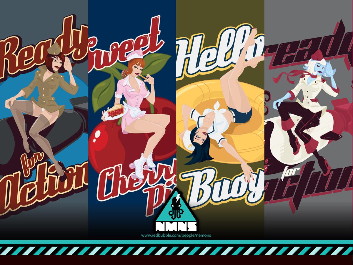 Bomber Girls by Nemons