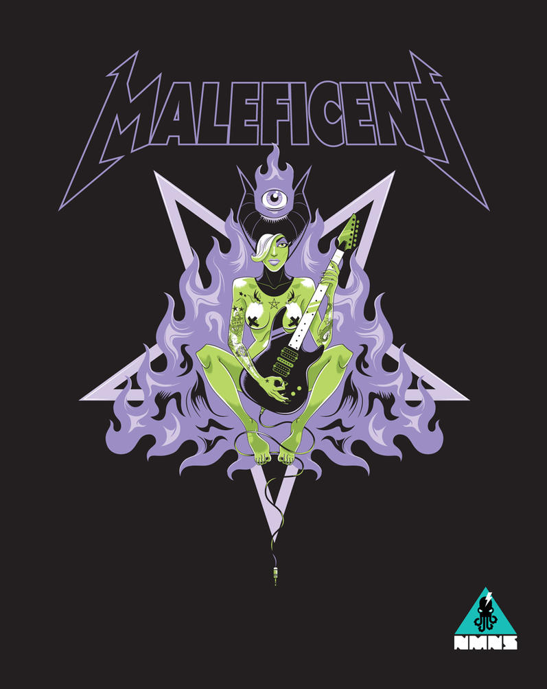 Metal Maleficent by Nemons