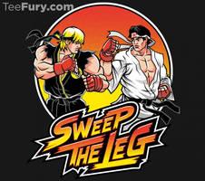 Sweep the leg!