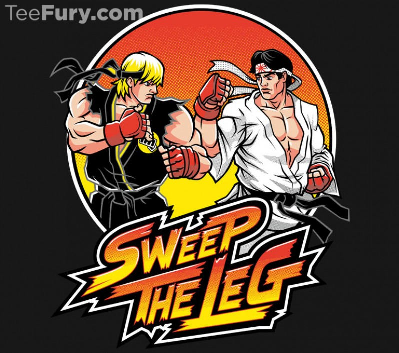 Sweep the leg! by Nemons