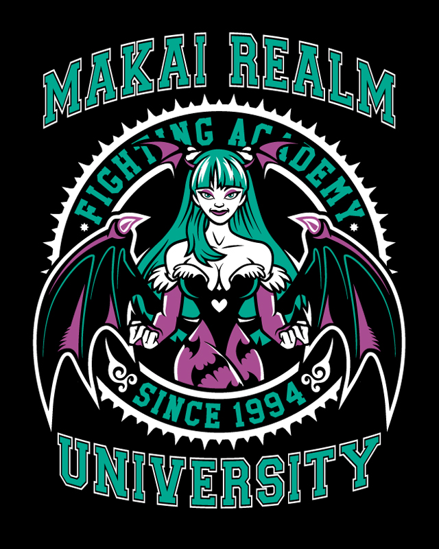 Makai Realm University - Darkstalkers by Nemons