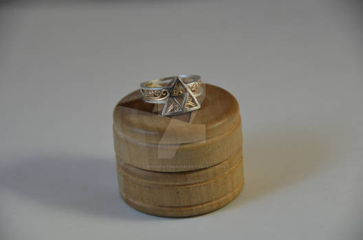 Triforce Ring Rev. 6 - Gold version