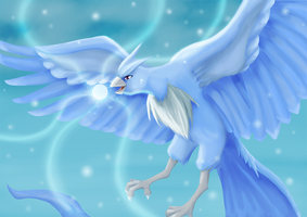 Articuno by Yuese