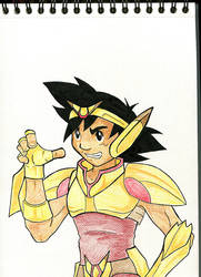 Inkpasaleur : Ash the warrior