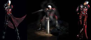 DMC1 Dante Official Arts, Renders