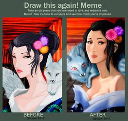 Draw this again Inari Version