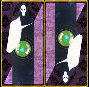 Voodoo Tarot Deck back