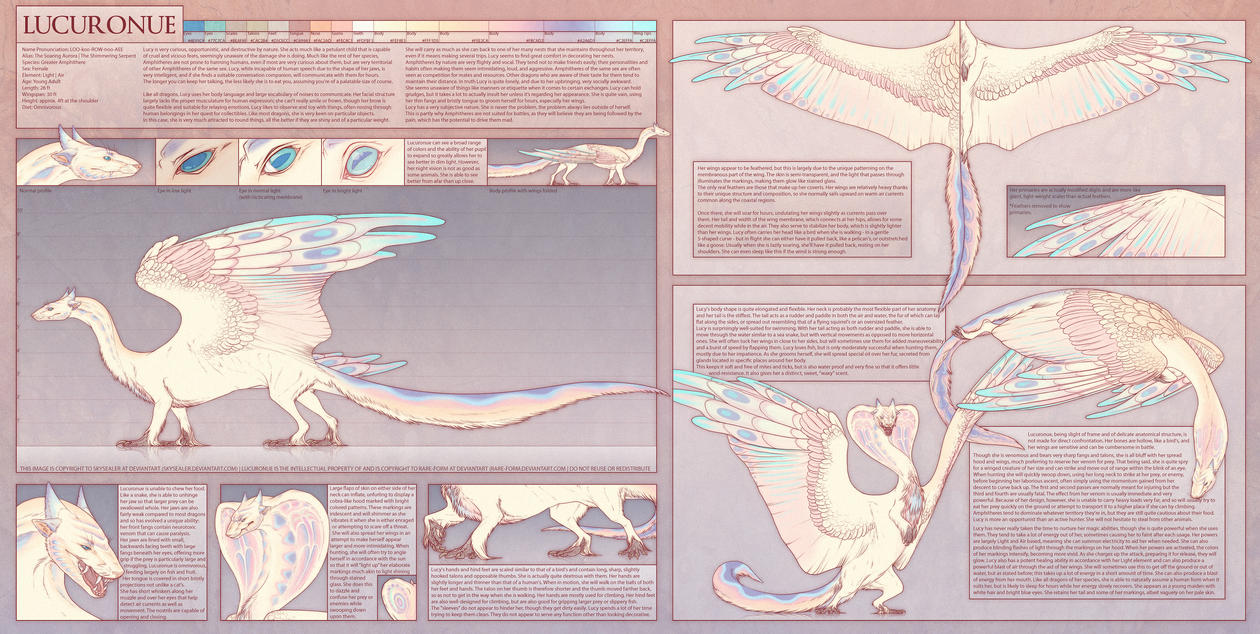 Lucuronue Reference Sheet by Skysealer