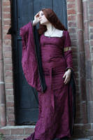 Medieval Burgundy Stock by DanielleFiore