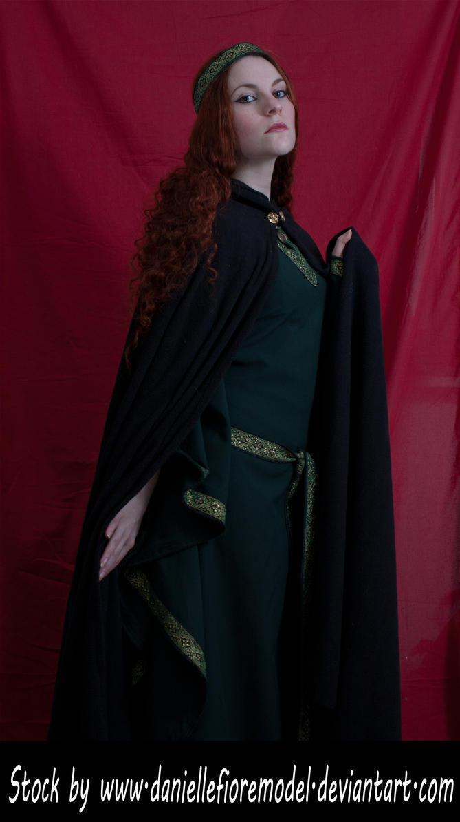 Medieval Cape Stock I Preview by DanielleFioreModel