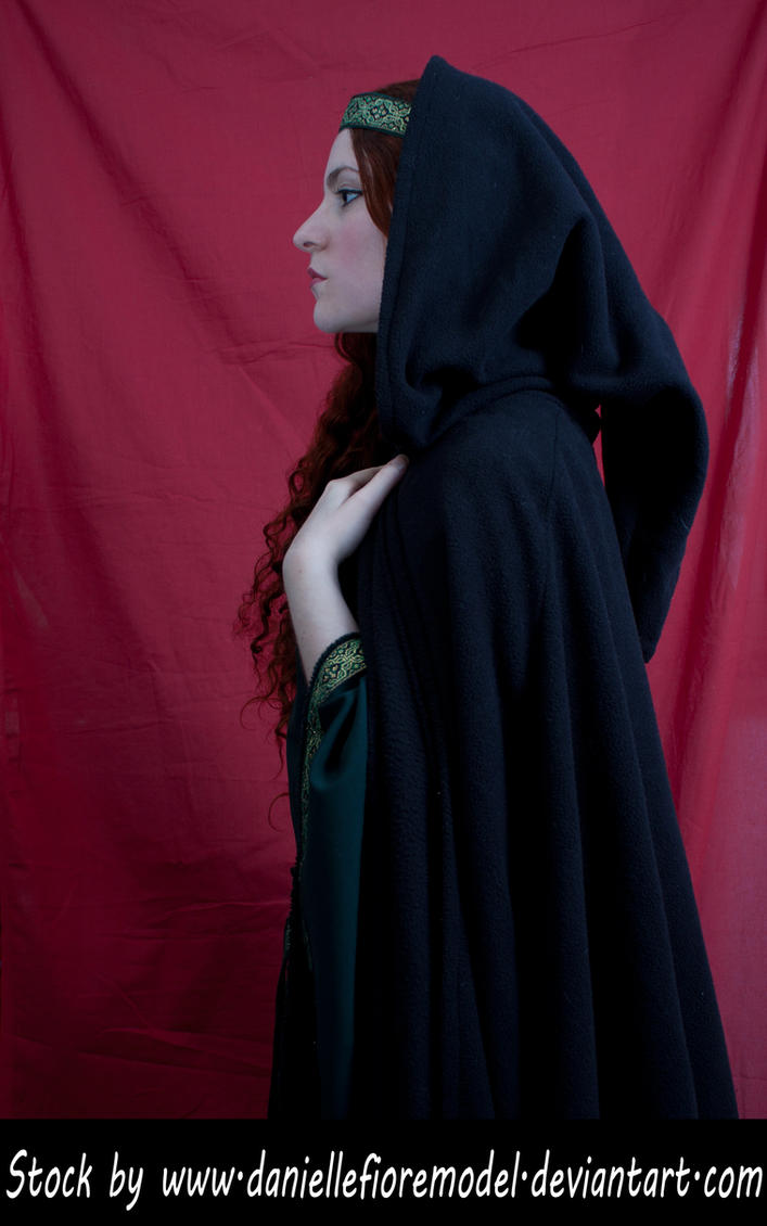 Medieval Cape Stock III by DanielleFioreModel