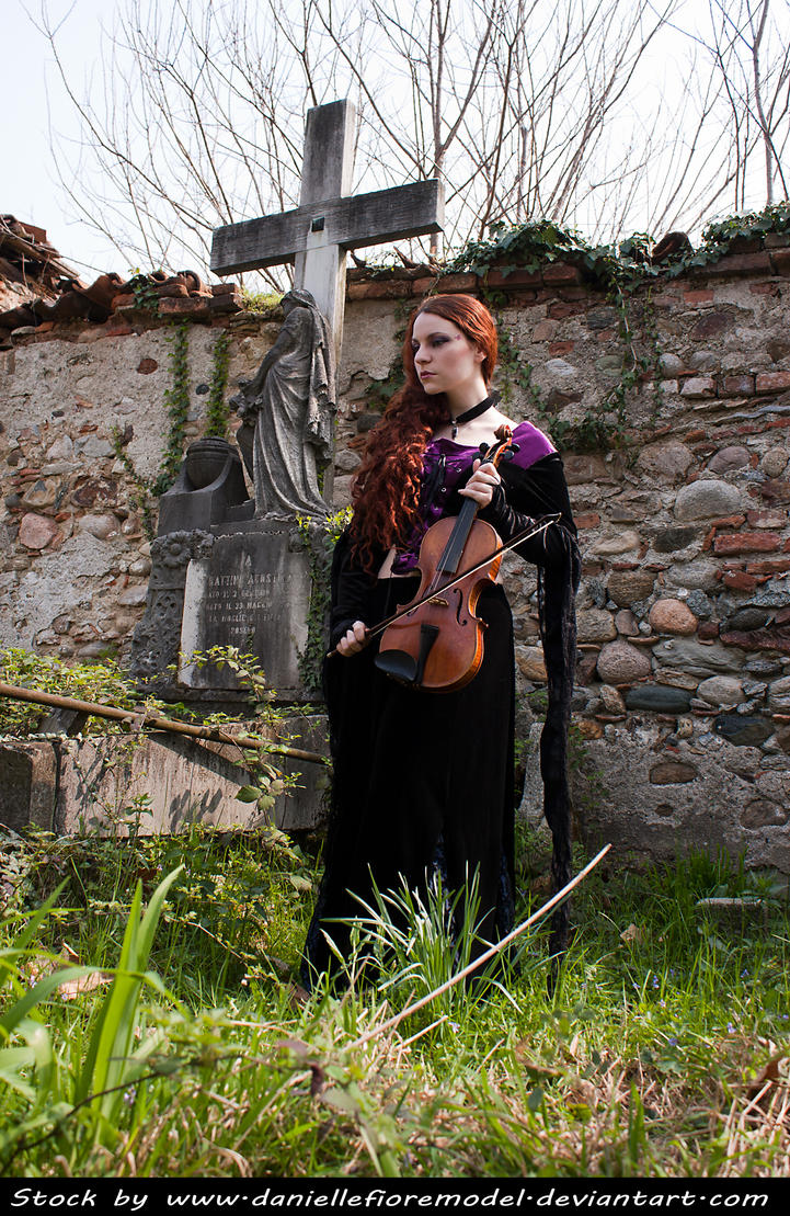 Graveyard Melody Stock II by DanielleFioreModel