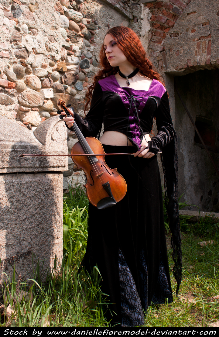 Graveyard Melody Stock IV by DanielleFioreModel