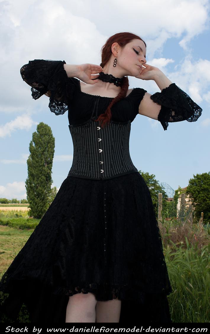 Black Lace Stock IV by DanielleFioreModel