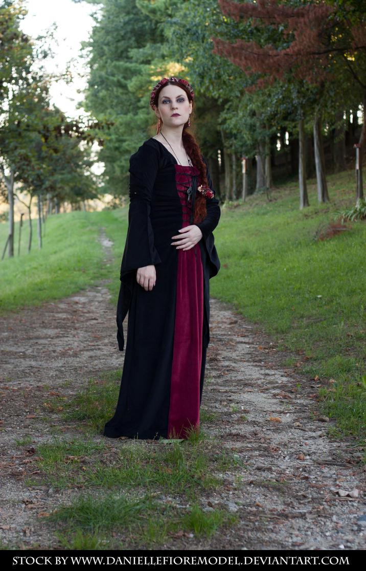 Medieval Romance Stock VIII by DanielleFioreModel
