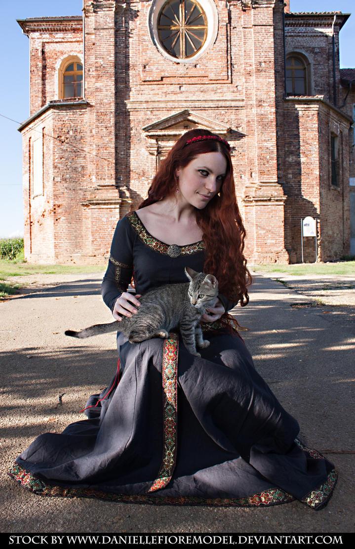 Medieval Gothic Stock VI by DanielleFioreModel