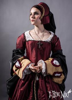 Tudor court dress
