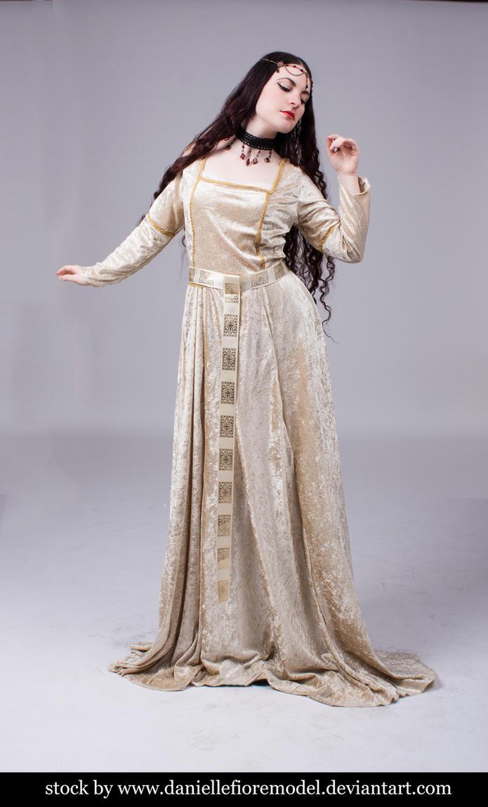 Medieval Princess stock - preview by DanielleFioreModel
