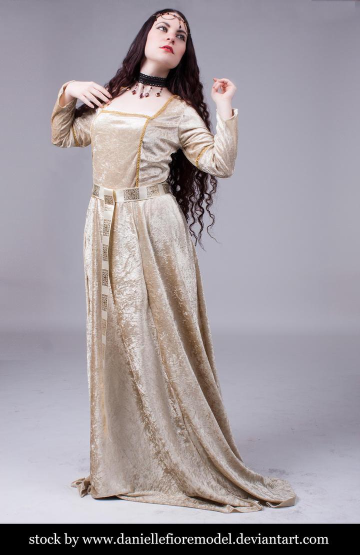 Medieval Princess stock 2 by DanielleFioreModel