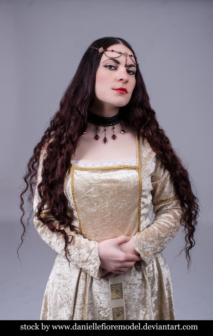 Medieval princess stock 4 by DanielleFioreModel