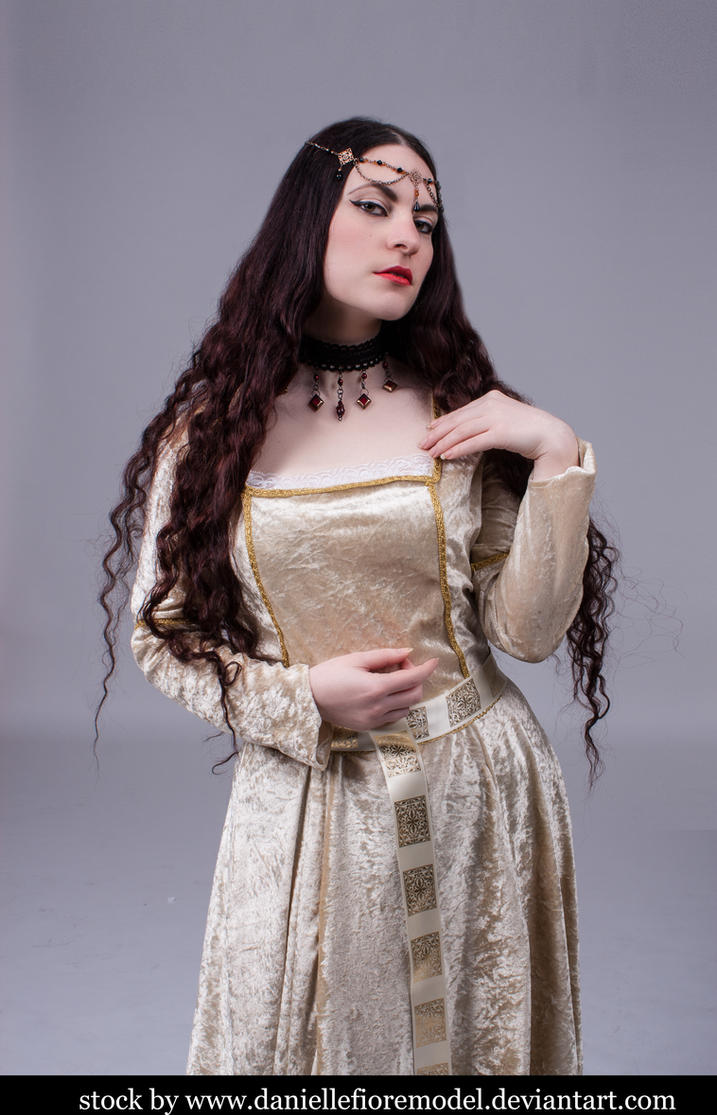 Medieval Princess stock 5 by DanielleFioreModel