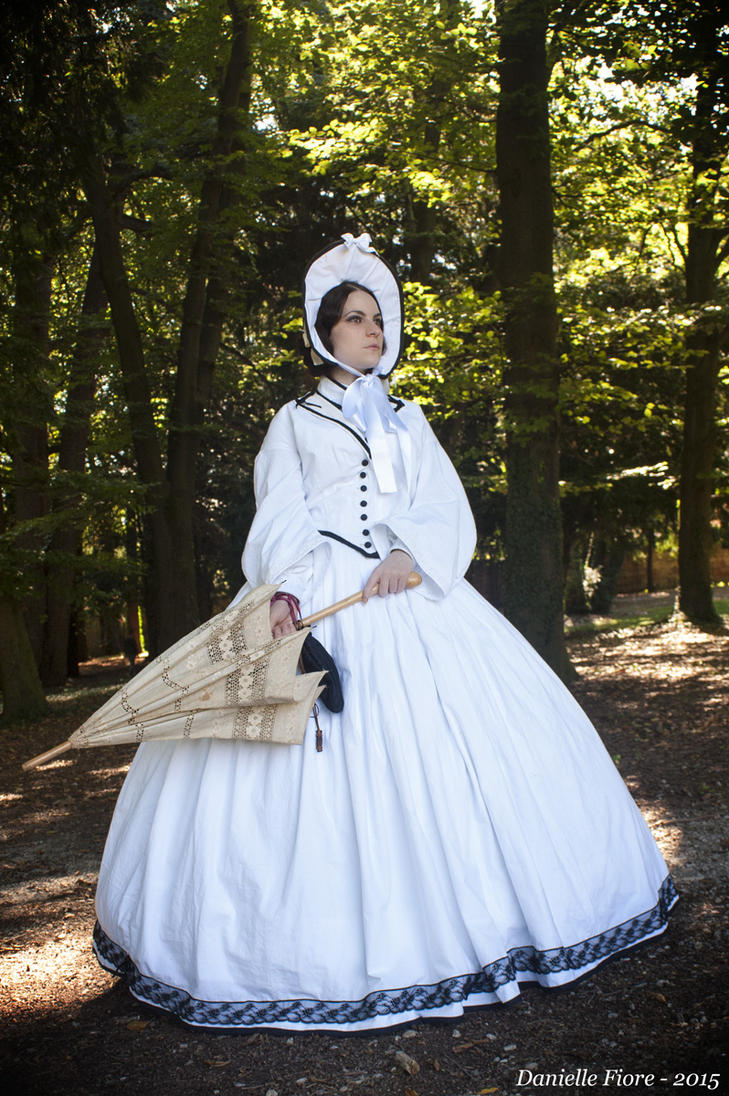 Pre-civil war dress (1850-1860) by DanielleFioreModel