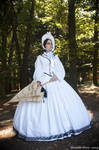 Pre-civil war dress (1850-1860) by DanielleFiore