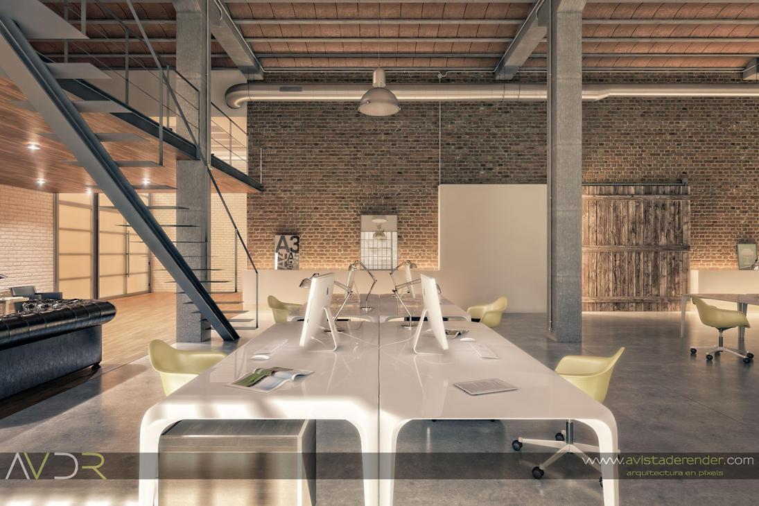 Render estudio arquitectura mesas de trabajo by - Mesas de arquitectura ...