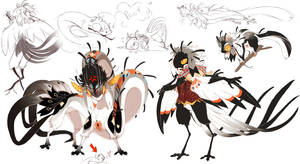 Myo Birdfolk entry 2 other forms completed