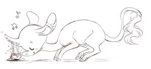 Sketch For Bonsquish by Dragonpunk15