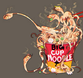 cup of noods by Dragonpunk15