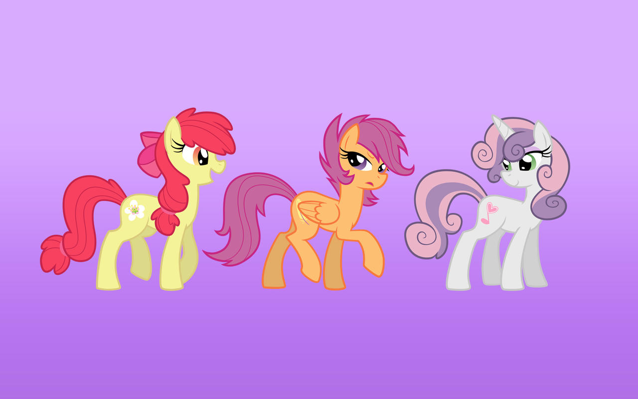 Cutie Mark Desktop Crusaders by Equestria-Prevails