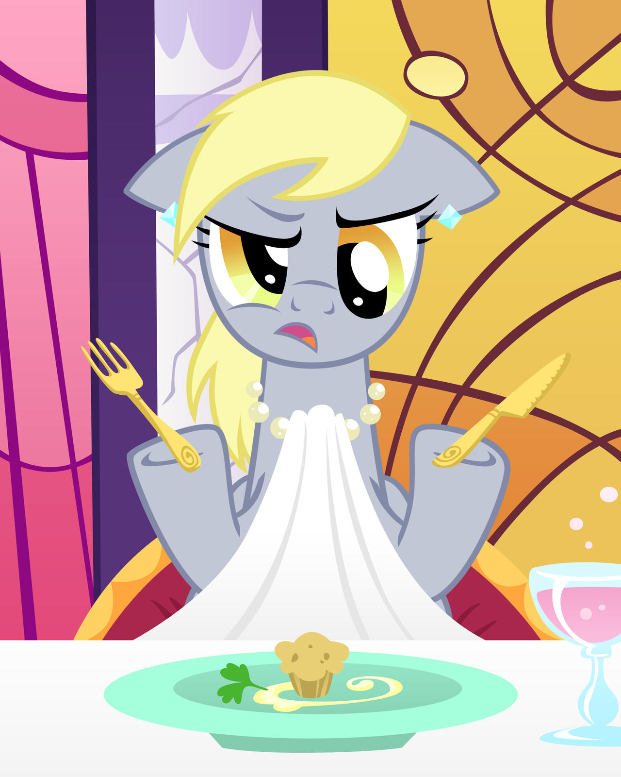 Canterlot Derpy by Equestria-Prevails
