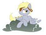 Derpy and Lil' Sparky