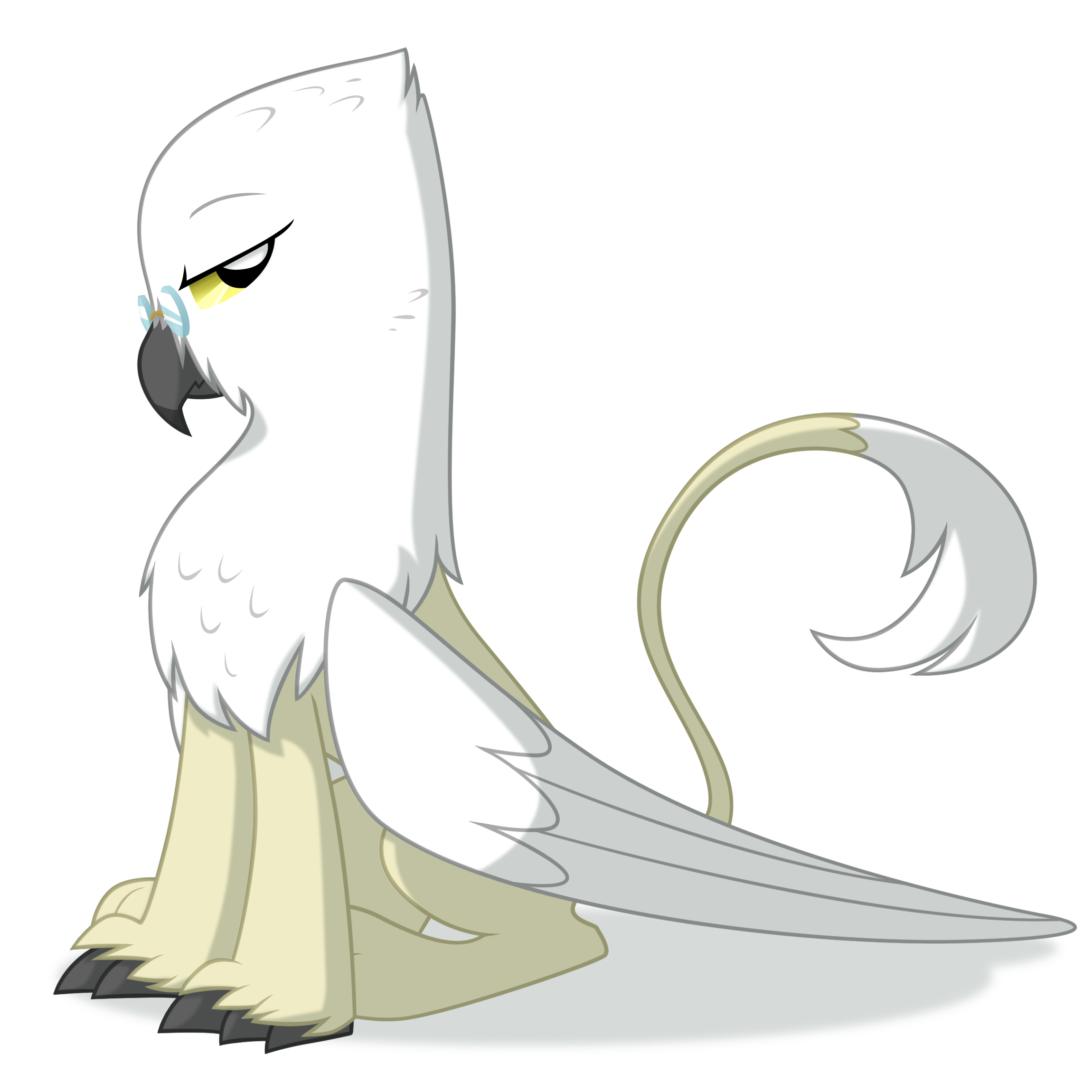 Snow Griffon by Equestria-Prevails
