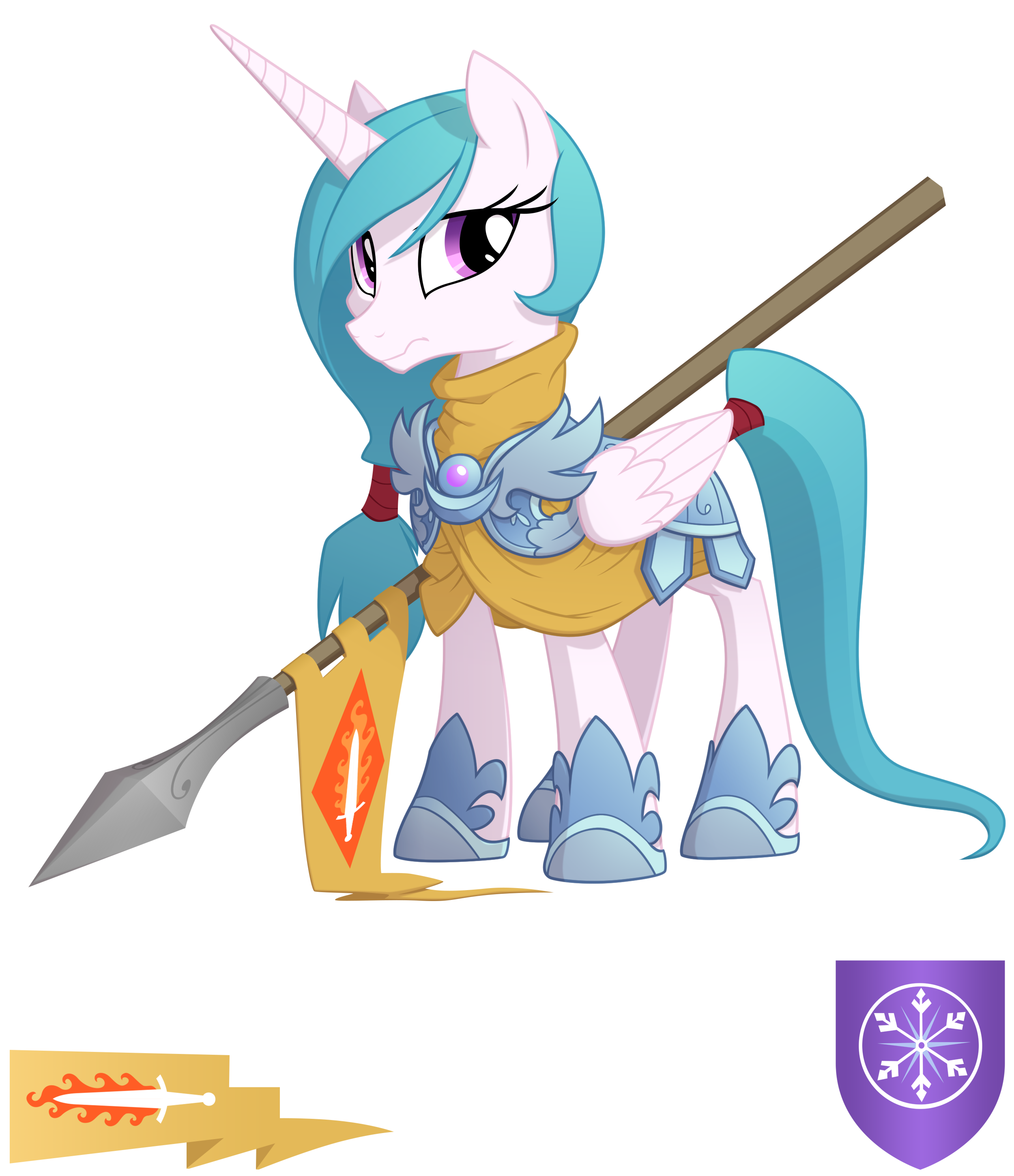 Rampart of Fire by Equestria-Prevails