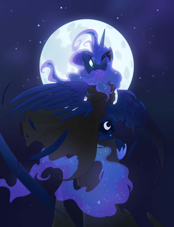 Sad Mystic Moon
