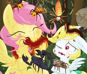 Cuddly Crawlies by Equestria-Prevails