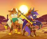 Golden Riders of the Frontier
