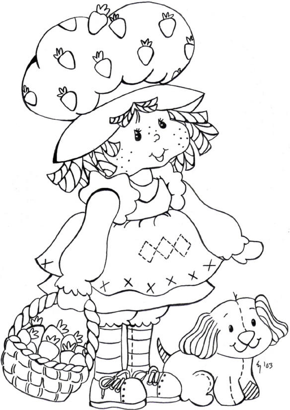 strawberry shortcake by zero77 on deviantart